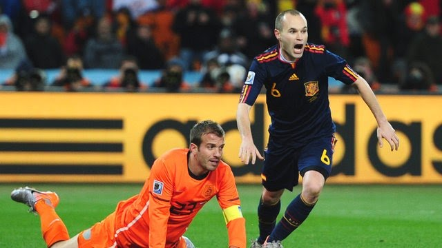 World Cup moments: Andres Iniesta's winner in 2010 final